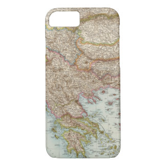 Balkanhalbinsel - Balkan Peninsula Map iPhone 8/7 Case