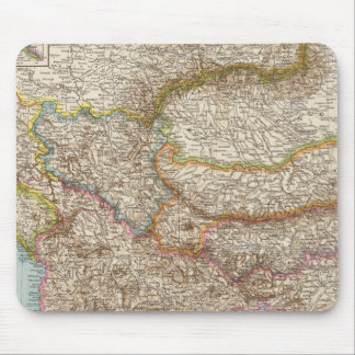 Balkanhalbinsel - Balkan Peninsula Map Mouse Mat