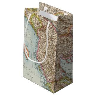 Balkanhalbinsel - Balkan Peninsula Map Small Gift Bag
