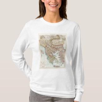 Balkanhalbinsel - Balkan Peninsula Map T-Shirt
