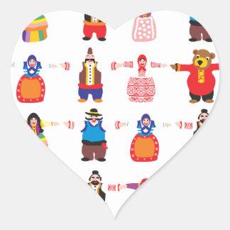 Balkanizacija Heart Sticker