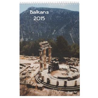 Balkans 2015 calendars