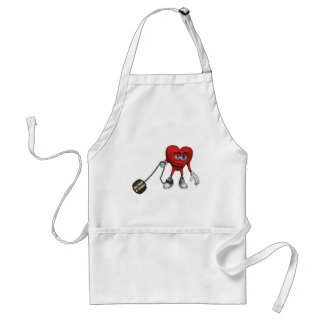 Ball And Chain Aprons