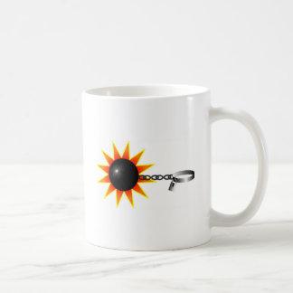 Ball and Chain Basic White Mug