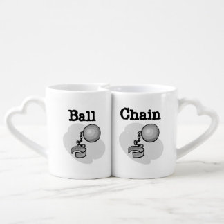 Ball and Chain Lovers Mugs