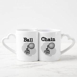Ball and Chain Lovers Mugs Lovers Mug