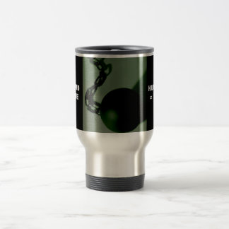 BALL AND CHAIN STAINLESS STEEL TRAVEL MUG