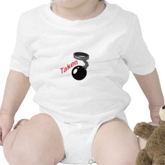 BALL AND CHAIN TAKEN BABY BODYSUIT