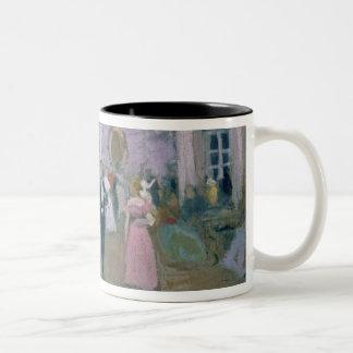 Ball at Larins Two-Tone Coffee Mug