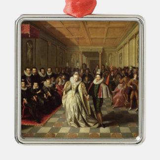 Ball at the Court of Henri III Christmas Ornament