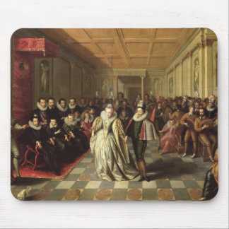 Ball at the Court of Henri III Mousepad