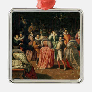 Ball at the Court of King Henri III of France Christmas Ornament