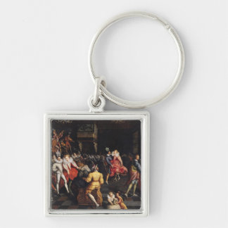 Ball at the Court of Valois Key Chains