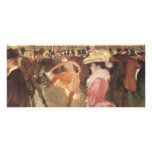 Ball at the Nightclub by Toulouse Lautrec Personalized Rack Card