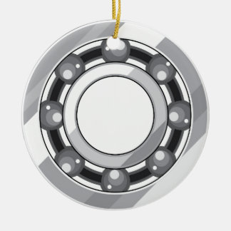 Ball bearing christmas ornament