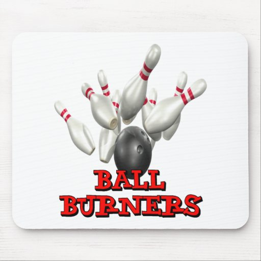 Ball Burners Bowling Mousepad