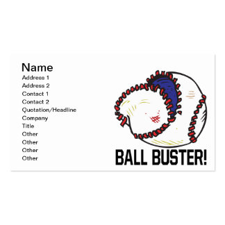 Ball Buster Double-Sided Standard Business Cards (Pack Of 100)