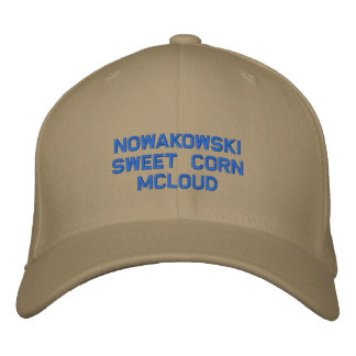 Ball Cap Embroidered Hat