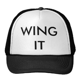 Ball Cap - WING IT Mesh Hats