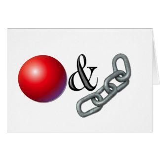 Ball & Chain Cards