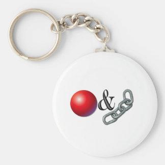 Ball & Chain Keychain