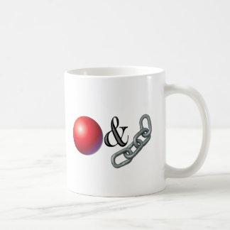 Ball & Chain Coffee Mugs