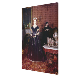 Ball gown of Mary Todd Lincoln Canvas Print
