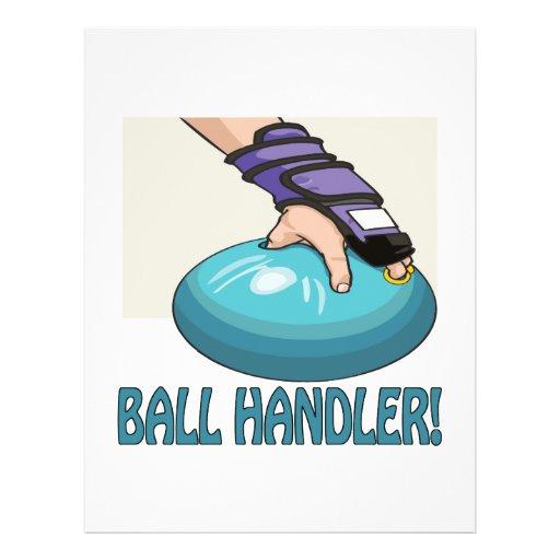 Ball Handler Flyer Design