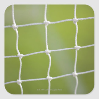 Ball in Net Square Sticker