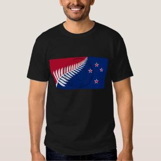 Ball new Zealand flag T-shirts