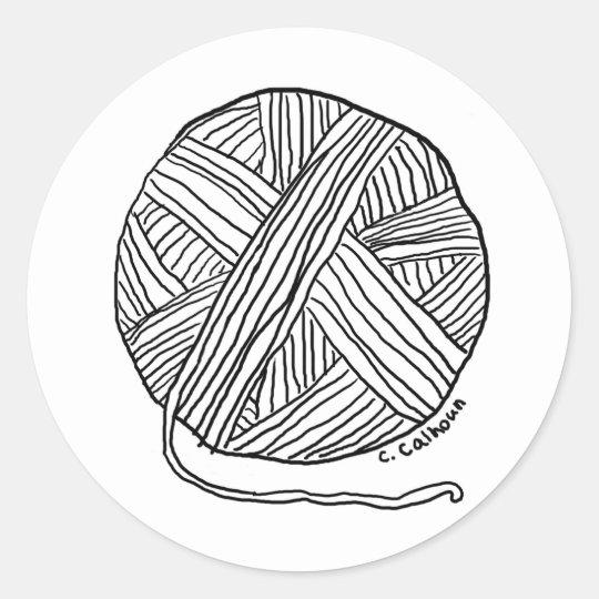 yarn coloring page printable - 540×540