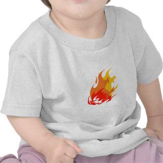 BALL OF FLAMES T SHIRT