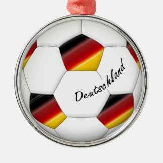 Ball of GERMANY SOCCER national team 2014 Christmas Ornament