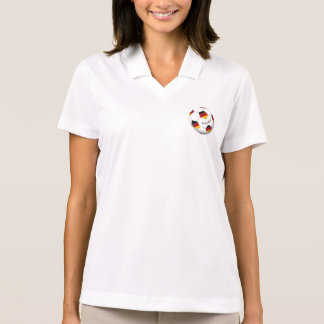 Ball of GERMANY SOCCER national team 2014 Polo T-shirts