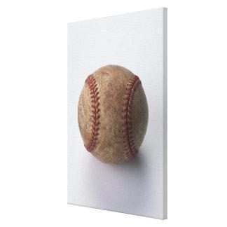 Ball of Hardball Baseball Canvas Print