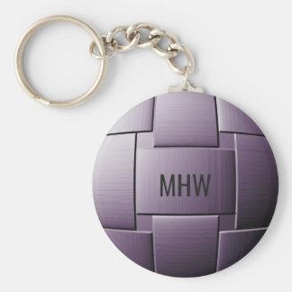 """Ball of Steel"" custom key chain"