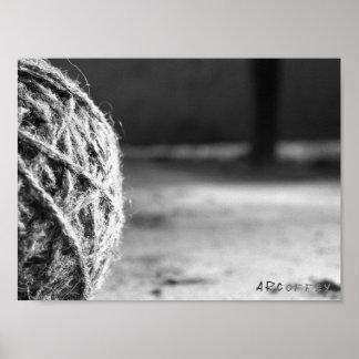 Ball of Yarn Poster