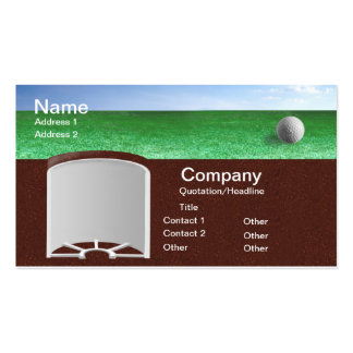 Ball on Green Pack Of Standard Business Cards