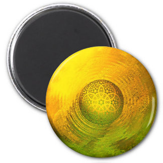 Ball on surface 6 cm round magnet