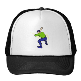 Ball Player Batting Trucker Hat