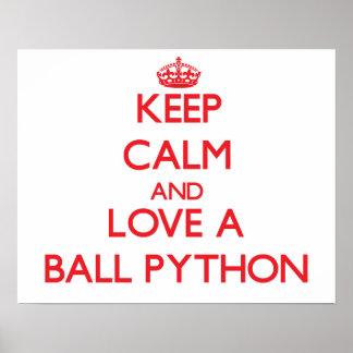 Ball Python Poster