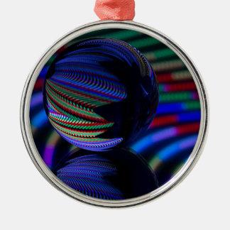 Ball Reflect 3 Christmas Ornament