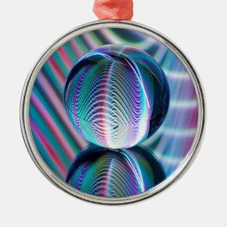 Ball Reflect 5 Christmas Ornament