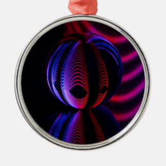 Ball Reflect 6 Christmas Ornament