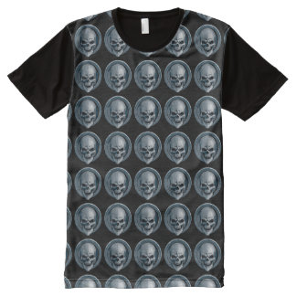 Ball Skull All-Over Print T-Shirt