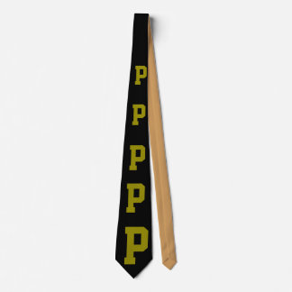 BALL TEAM MENS TIES -add your team letter