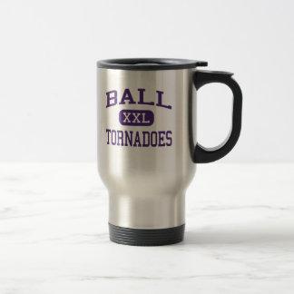 Ball - Tornadoes - High School - Galveston Texas Travel Mug