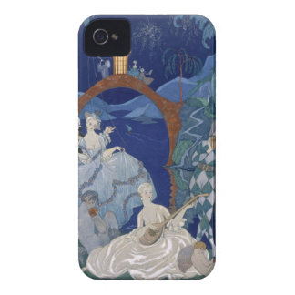 Ball Under the Blue Moon, illustration for 'Fetes Case-Mate iPhone 4 Case