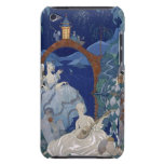 Ball Under the Blue Moon, illustration for 'Fetes Case-Mate iPod Touch Case