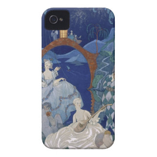 Ball Under the Blue Moon, illustration for 'Fetes iPhone 4 Cover